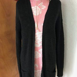 Black Chunky Knit Cardigan Mossimo Supply & Co